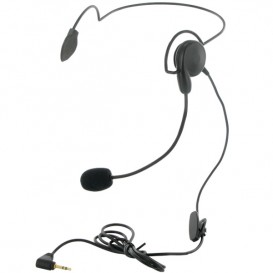 Headset met Nekband voor Motorola Walkie Talkies (1-Pin)