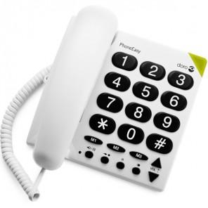 Doro Phone Easy 311C Analoge Telefoon (Wit) 1