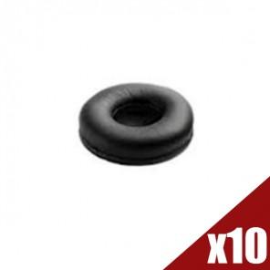 Kunstleren oorkussens voor Jabra BIZ 2400 II (Pack van 10)