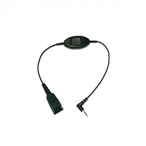 Jabra Kabel voor Alcatel 500mm QD naar 3.5mm aansluiting
