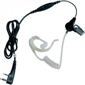 JD1202 KW Headset voor Kenwood Walkie Talkies