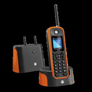 Motorola O201 Draadloze DECT Telefoon (Oranje)