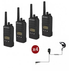 Motorola XT460 2-pack + 4 headsets