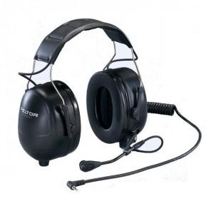 3M Peltor Flex Headset voor Motorola Walkie Talkies (1-Pin)