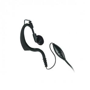 Oorschelp Headset met Microfoon voor Motorola Walkie Talkies (1 Pin)
