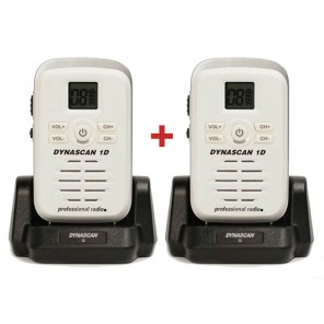 Dynascan 1D PMR446 2-Pack Walkie-Talkies
