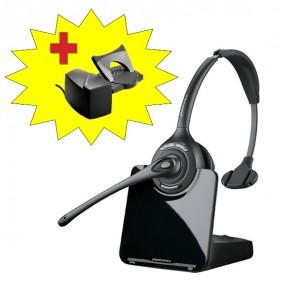 Plantronics CS510 Draadloze Headset + HL10 Hoornlifter