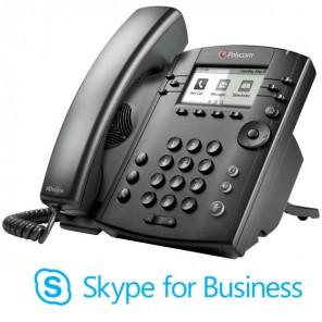 Polycom VVX 301 MS VoIP Desktop Telefoon