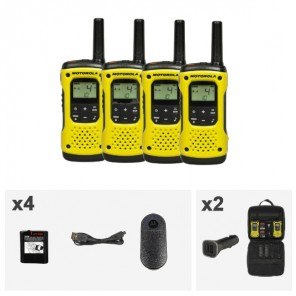 Motorola TLKR T92 H₂O Walkie Talkie 4-Pack (3)