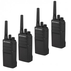 Motorola XT420 Walkie Talkie 4-Pack