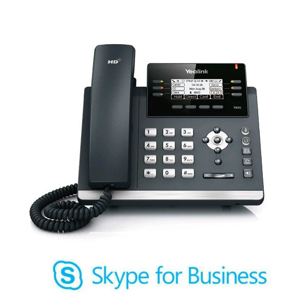 Yealink T42S Skype for Business