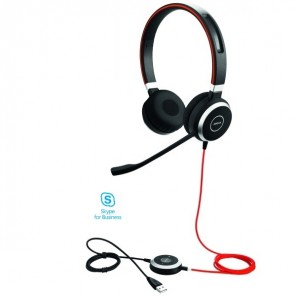 Jabra Evolve 40 USB UC MS Duo
