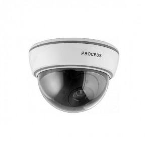 Caméra intérieure factice avec LED