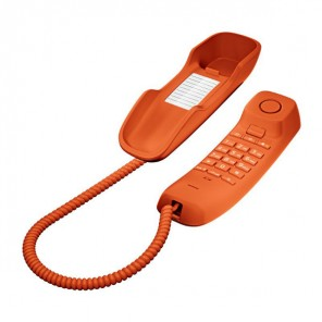 Téléphone analogique Gigaset DA210 (Orange)