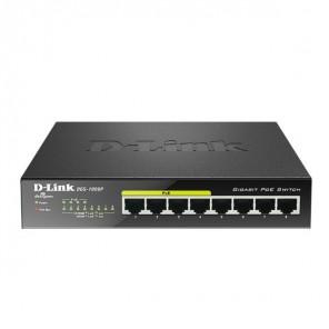 D-LINK DGS-1008P - Switch 8 ports - PoE 2