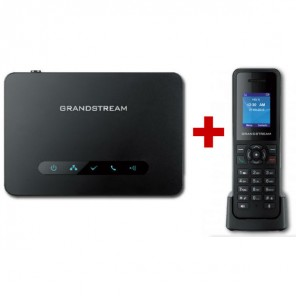 Pack : Base DECT Grandstream DP750 + combiné DP720