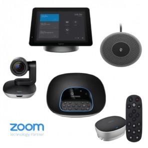 Kit avec Logitech SmartDock, Group et Microphone