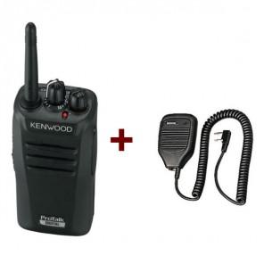 Kenwood TK-3401D + Microphone à haut-parleur (1)