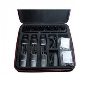 Pack de 6 Midland BR02 avec Multichargeur pour 6
