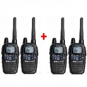 Pack de 4 Talkies Walkies Midland G7 Pro