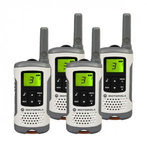 Pack de 4 talkies-walkies sans license Motorola TLKR T50