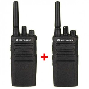 Pack Duo de talkies-walkies Motorola XT420