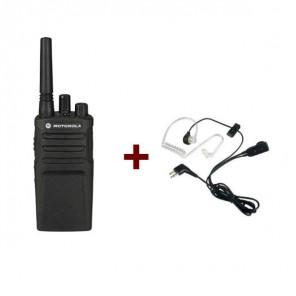 Talkie-Walkie Motorola XT420 + 1 Kit Bodyguard