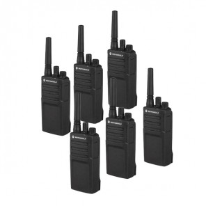 Pack de 6 talkies-walkies Motorola XT420