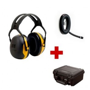 Pack de communication Bluetooth avec 3M Peltor X2