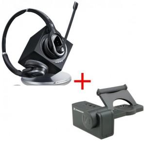 Pack liberté: Sennheiser DW Pro 2 Lync + levier mécanique de décrochage à distance HSL10