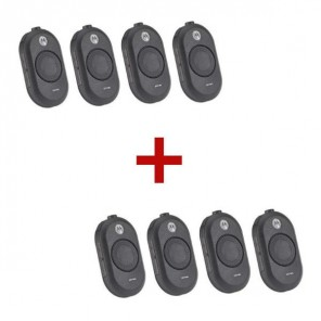 Motorola CLP 446 talkie-walkie 8-Pack