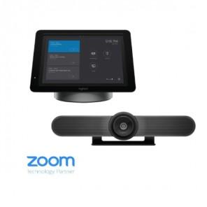 Kit avec solution de vidéoconférence tout-en-un SmartDock + console de sécurité MeetUp