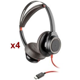 Pack 4x Plantronics Blackwire 7225