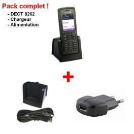 Compleet Alcatel-Lucent 8262-pakket met lader en voeding