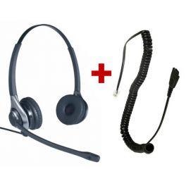 Headset OD HC 45 + QD-kabel - RJ