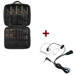 Motorola Talkabout T82 Extreme 4-Pack + 4x Bodyguard Oortjes
