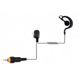 Oorhaak headset voor Motorola CLP portofoons