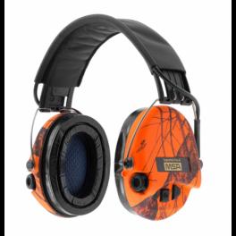 MSA Supreme Pro-X hoofdband (oranje) (2)