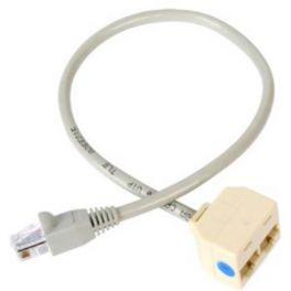 RJ45 dubbel naar enkel kabel