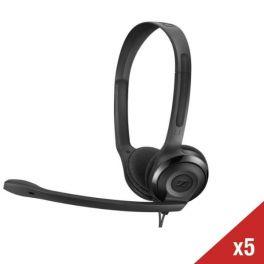 Set van 5 Sennheiser PC headsets