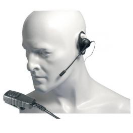Entel D-vormig oortje met boommicrofoon voor de HT Serie