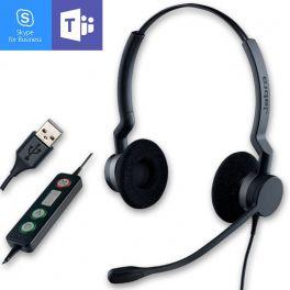 Jabra BIZ 2300 USB Duo MS Lync Headset
