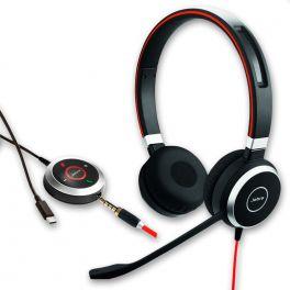 Jabra Evolve 40 UC Stereo - USB-C 1