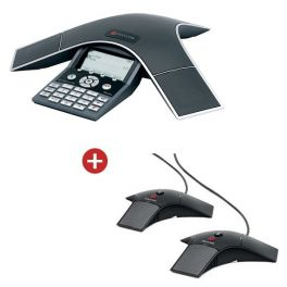 Soundstation IP 7000 POE met uitbreidingsmicrofoons