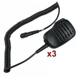 3-pack JD500 MT HP Speakermicrofoon