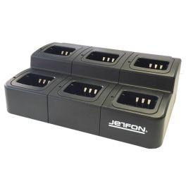 Jefton multi-oplader voor Kenwood (6 posities)
