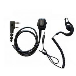 Kenwood 2 pin Microfoon en Headset
