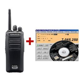 Kenwood Protalk TK-3501E + Programmeerkit (1)