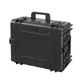 MAX540H245S Zwart - Robuuste schuimkoffer 1