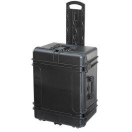 MAX540H245STR Zwart - Robuuste koffer met wielen